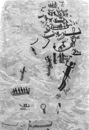 Affisch: Hällristningen Skomakaren år 1881.